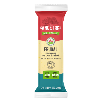 Organic cheese Frugal 7 %